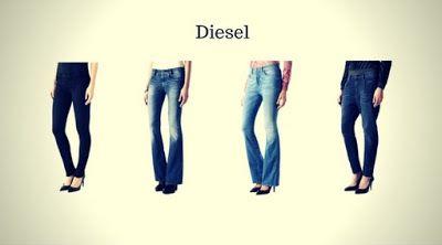 Top 12 Marcas de Calças Jeans Femininas - Calças Jeans Femininas da Diesel