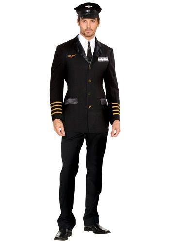 Men's Mile High Pilot Costume