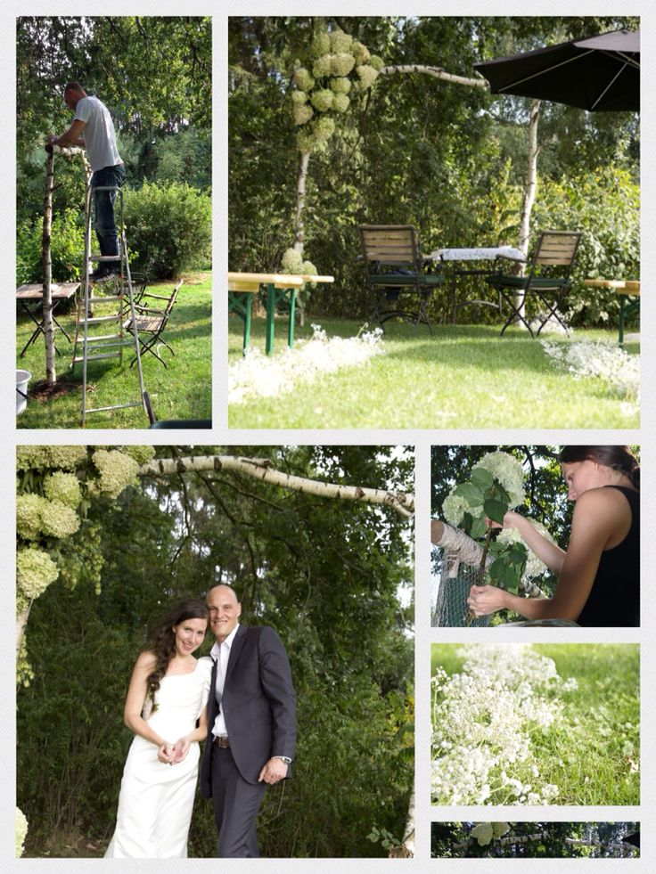 33 best Wedding in our garden images on Pinterest   Backyard ...