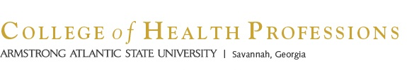 College of Health Professions, Armstrong Atlantic State University, Savannah, Georgia