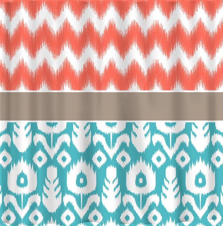 31 Best Images About Shower Curtains On Pinterest Joss And Main Circle Pattern And Coral