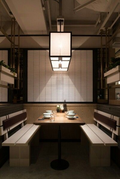 MOMOJEIN Korean Restaurant Hong Kong designed by Minusworkshop