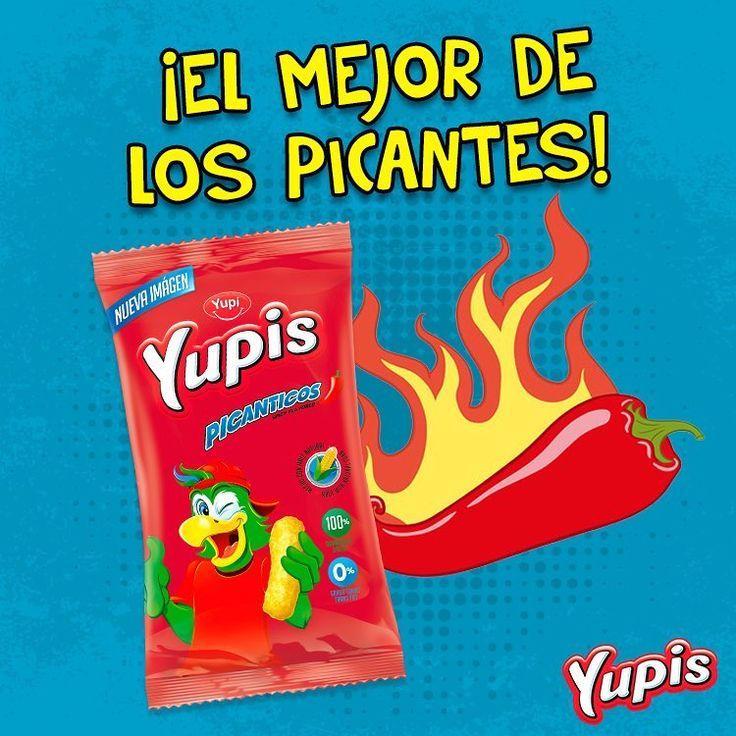 Los #YupisPicantes están hechos con materias primas de excelente calidad. ¿Y a ti, te gusta el picante? #Yupis #snacks #rico #comida #food #foodporn #Recipe #Picar #Yum #Healthy #Yummi #Lonchera #delicious #Yupi