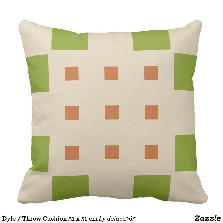 Dylo / Throw Cushion 51 x 51 cm