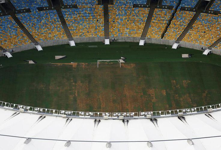 Le stade Maracana, utilisé pour les cérémonies d'ouverture et de clôture.