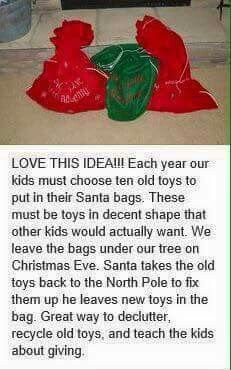 Found on Facebook, not sure where it came from, but it's a good idea!