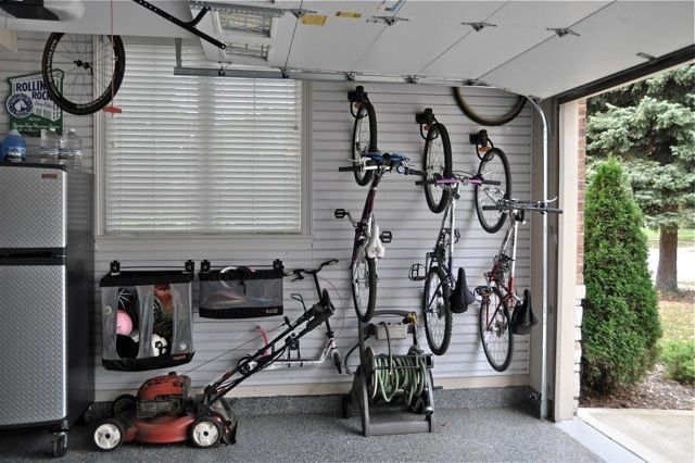 Gladiator Garageworks Storage Solutions.  This is perfect for our garage.