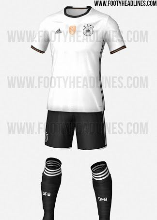 Germany Euro 2016 Kits Leaked