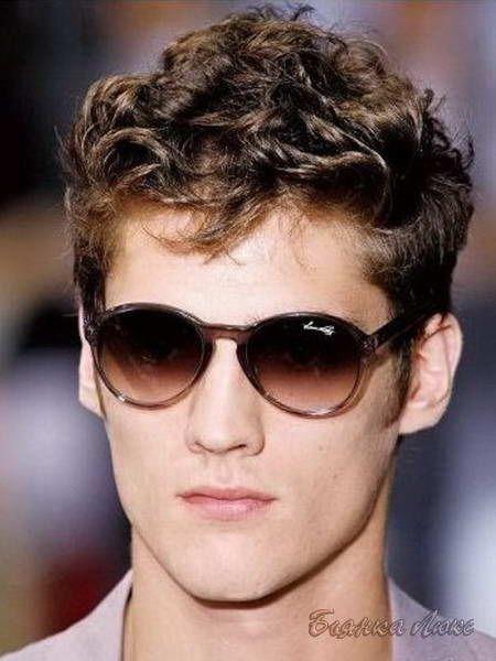 мужская стрижка на кудрявые волосы - Поиск в Google