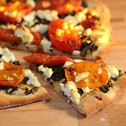 Pretty Pretty Purslane Pizza