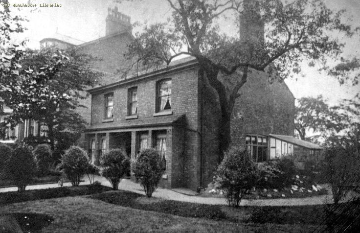Moss Grove House in Moss Side (1905)