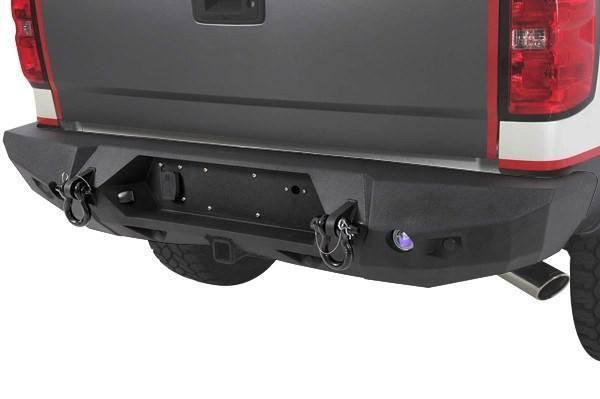 2008-2011 Smittybilt Chevy Silverado 3500 HD 614820 M-1 Rear Bumper textured black