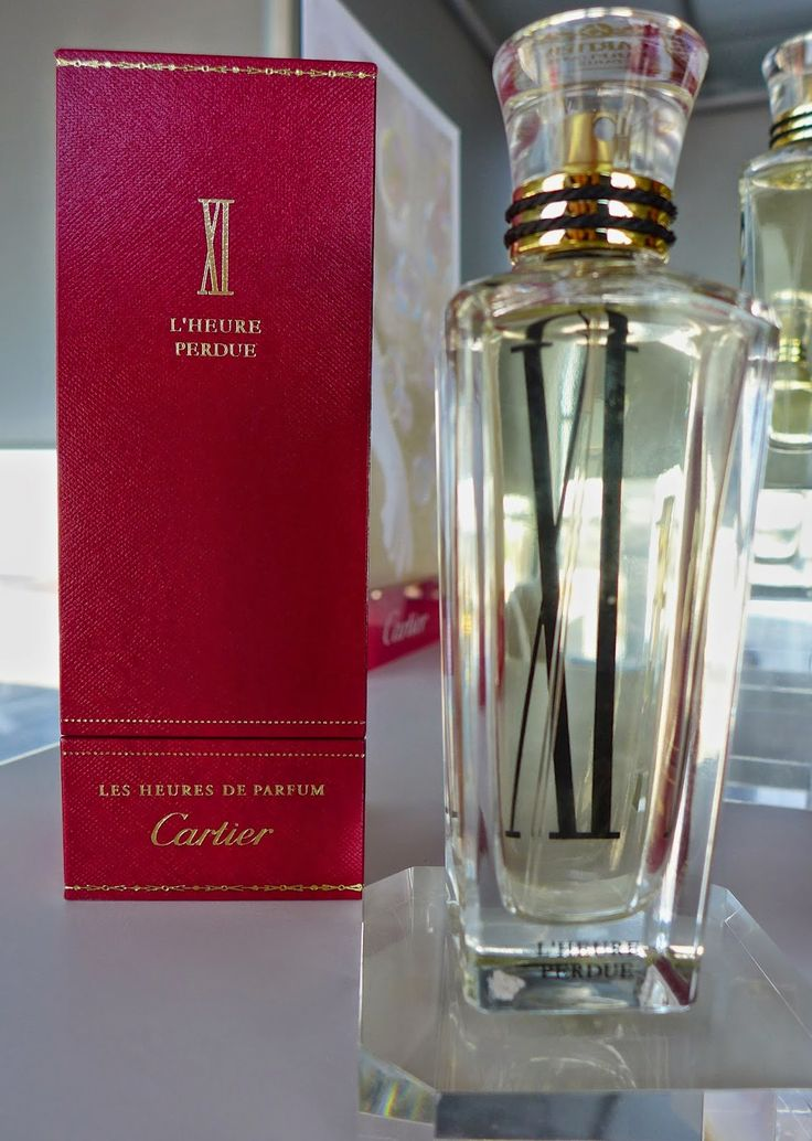 Cartier, L'Heure Perdue: the latest High Perfumery creation by Mathilde Laurent | The Parisian Eye