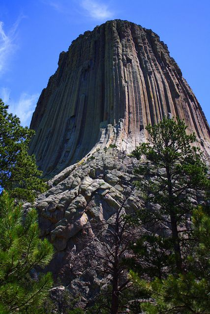 Devil's Tower National Monument, Sundance, Wyoming -- Three times visited and is hauntingly spiritual. Spent the 4th of July 2008 while on the return trip of a cross country bike ride.