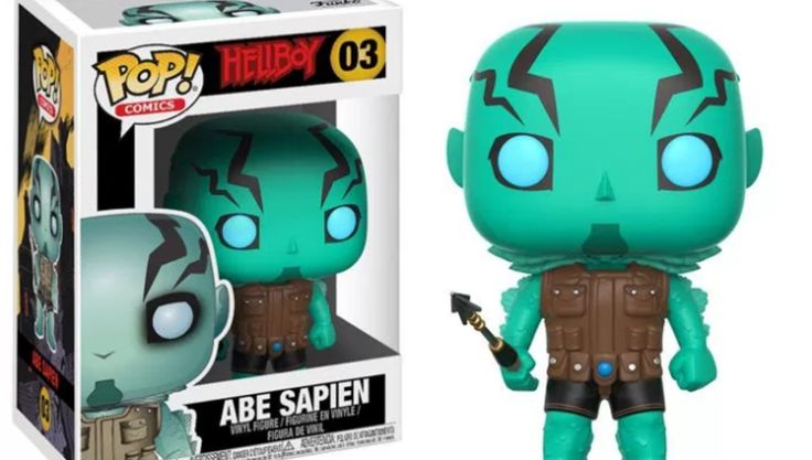 Abe Sapien and Lobster Johnson round out Funko's new roster of Hellboy toys