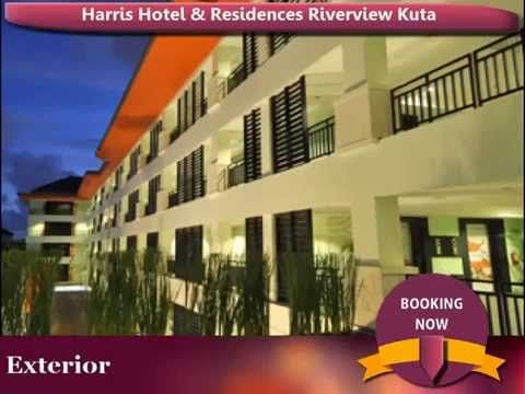 Harris Hotel and Residences Riverview Kuta, Bali, Indonesia - YouTube