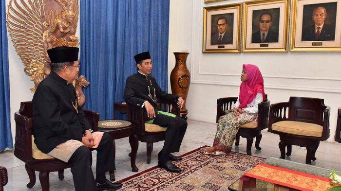 Afi Dapat Kesempatan Langka Duduk Berhadapan dengan Jokowi dan Jusuf Kalla