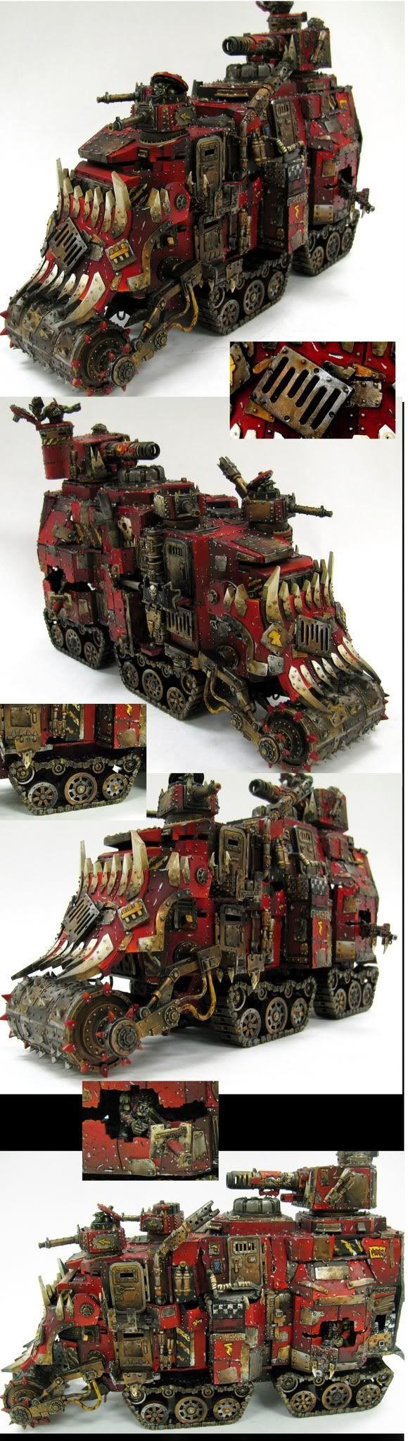 Ork double decker battlewagon/conversion