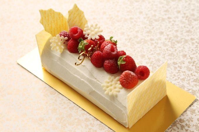 ジョエル・ロブションのクリスマスケーキ発売、ハート型ホワイトチョコムースなど   ファッションプレス