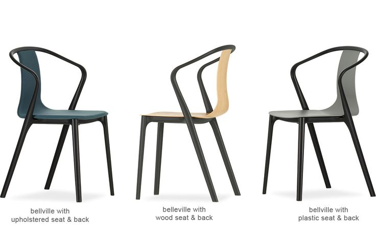 Image result for belleville chair vitra
