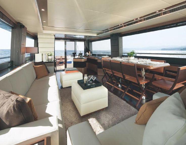 Las 25 mejores ideas sobre yates de lujo en pinterest for Decoracion barcos interiores