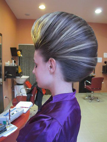 Smooth Bouffant French Roll In 2019