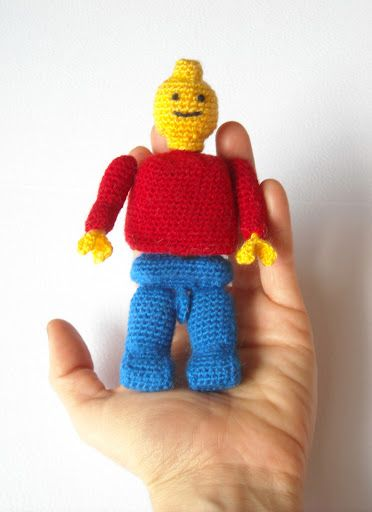 Amigurumi Lego Man : 17 Best images about All things LEGO on Pinterest Lego ...