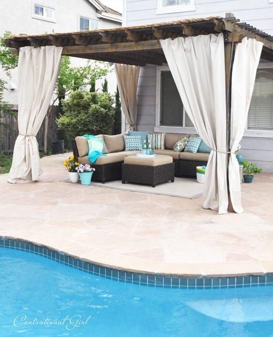 An Outstanding Outdoor Room Makeover » Curbly | DIY Design Community