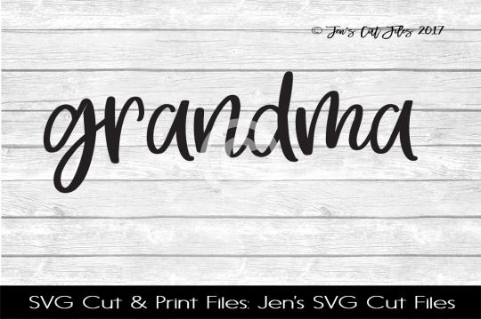 Grandma SVG Cut File