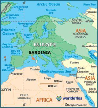 sardinia | Map of Sardinia - European Maps, Europe Maps Sardinia Map Information ...