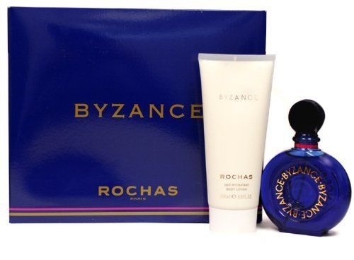 BYZANCE by Rochas 2pcs Set-3.4 oz (100 ml) EDT & 6.7 oz (200 ml) Body Lotion by Rochas. $299.99. *3.4 oz (100 ml) EDT Spray. * 6.7 (200 ML) Body Lotion. Byzance Perfume by Rochas, Launched by the design house of rochas in 1987, byzance is classified as a sharp, oriental, floral fragrance. This feminine scent possesses a blend of citrus, vanilla, musk, and white floral notes of jasmine and lily of the valley.