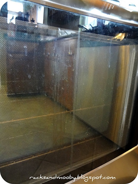 OMG...I have the drips between the glass on my oven door - they drive me crazy. I am going to do this today!!  :D