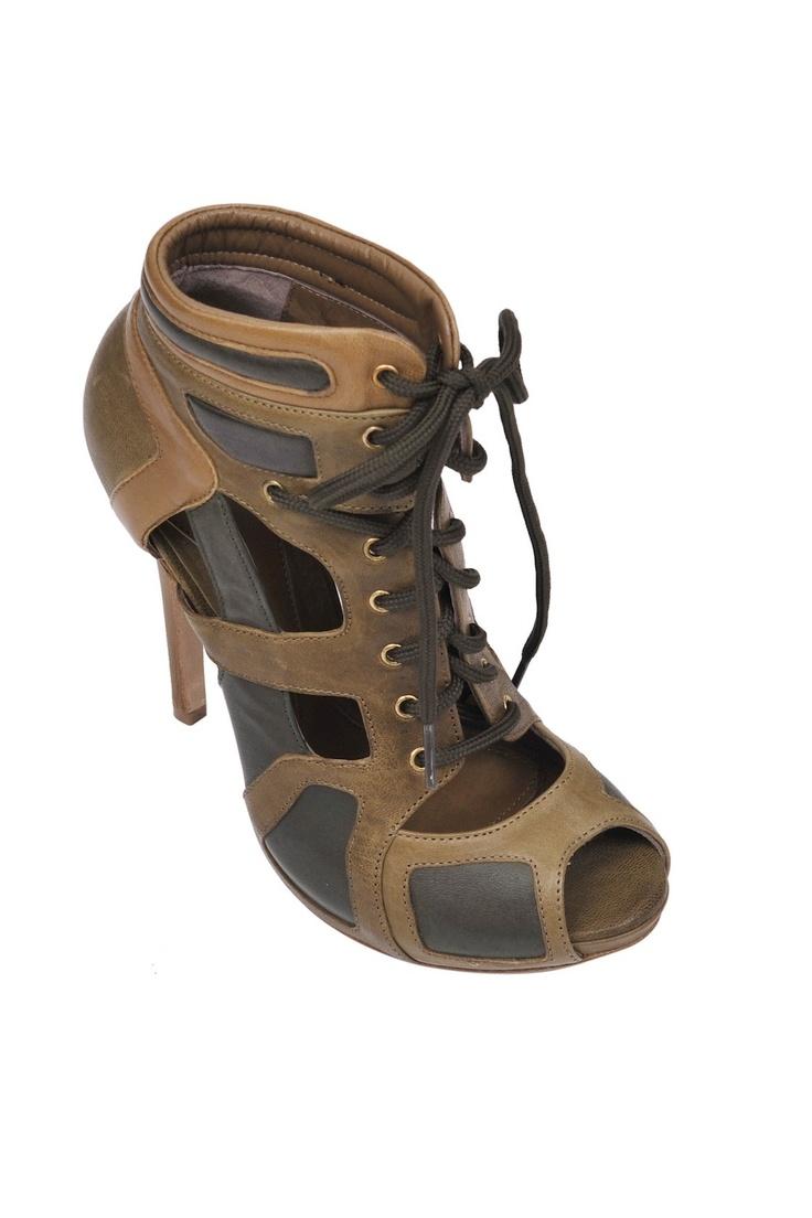 McQ- Alexander McQueen-cut out sandal