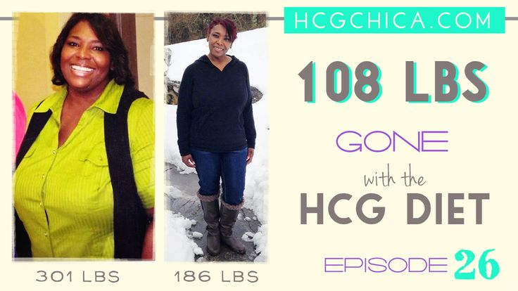 108 lbs gone with the hCG Diet - Episode 26 - hcgchica.com