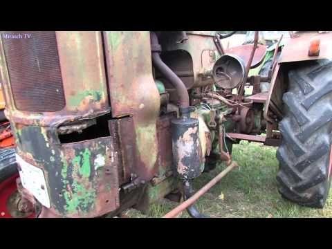 Oldtimer Traktor Deutz ( unrestauriert - Ansicht ) Hersteller:       Deutz Leistung(PS): 15 Baujahr:         1954 Zylinder:         1