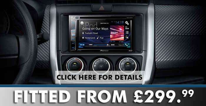Install Pioneer Avh X490dab 2din Dab Multimedia Stereo In Your