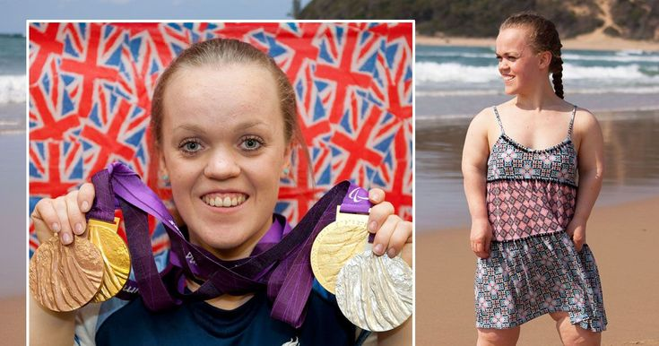 Team GB swim sensation tells of the hardships the fans never see days before her…