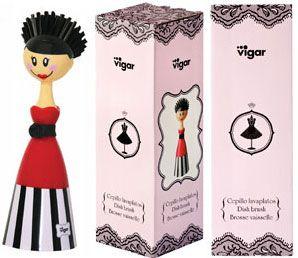 Olivia-Haute couture dolls Dish Brush