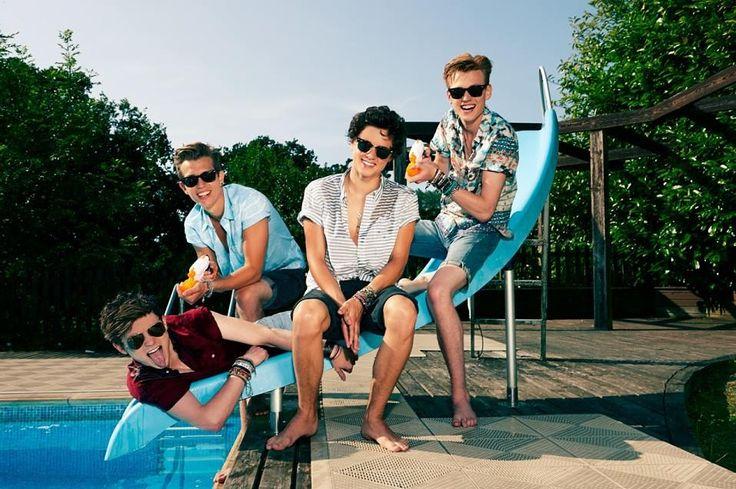 Connor, James, Brad, and Tristan