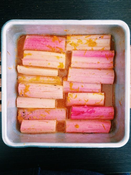 Poached rhubarb | Food | Pinterest
