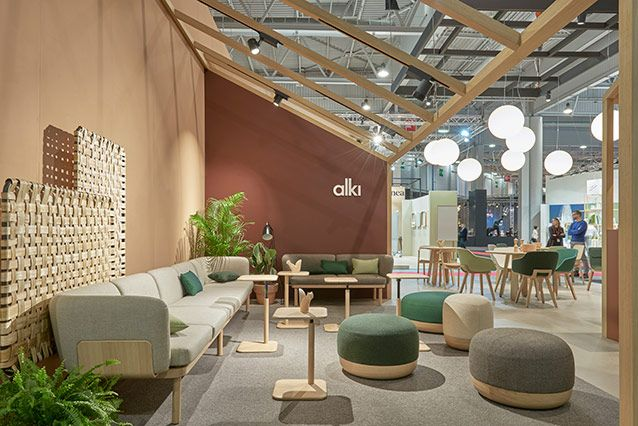 Salon-Maison-Objet-Paris-Alki  Office interior design, Showroom