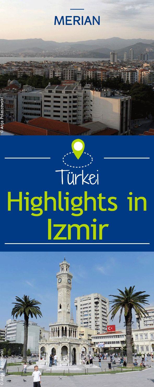 Von der schönen Hafenpromenade über den bunten Kemeraltı Bazar bis zum Uhrenturm auf dem berühmten Konak-Platz ist die Stadt Izmir in der Türkei unbedingt eine Reise wert! Wir zeigen euch alle Highlights der Hafenstadt.