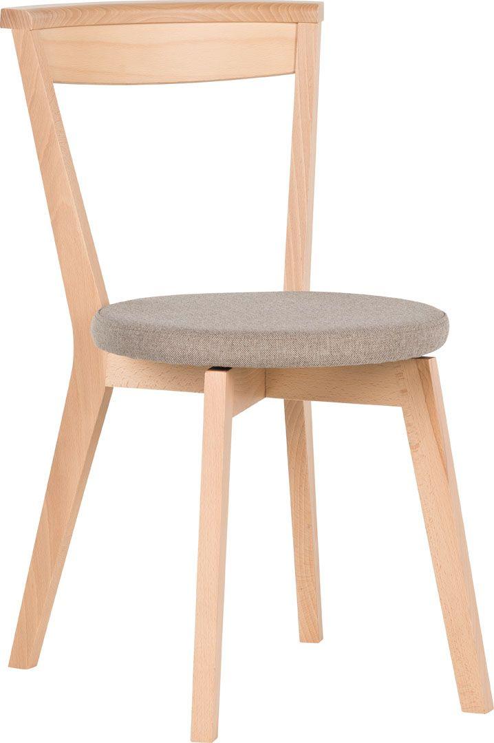 cechy i korzyści Krzesło posiada obrotowe siedzisko, które ułatwia wstawanie oraz zmianę pozycji przy stole. Dobrze sprawdza się podczas pełnych ruchu, rozmów i emocji spotkań towarzyskich, zarówno w ...