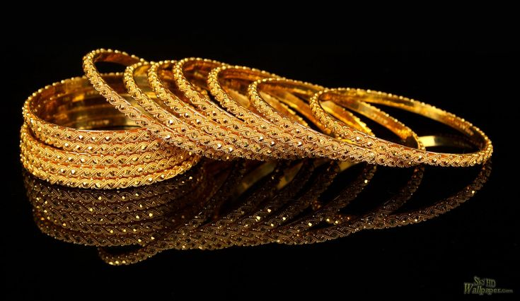 Indian Gold Bangles Design