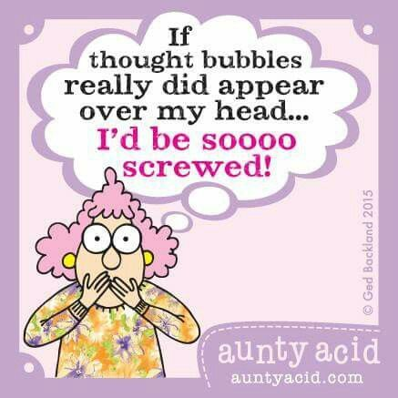 Aunty Acid.                                                       …                                                                                                                                                     More