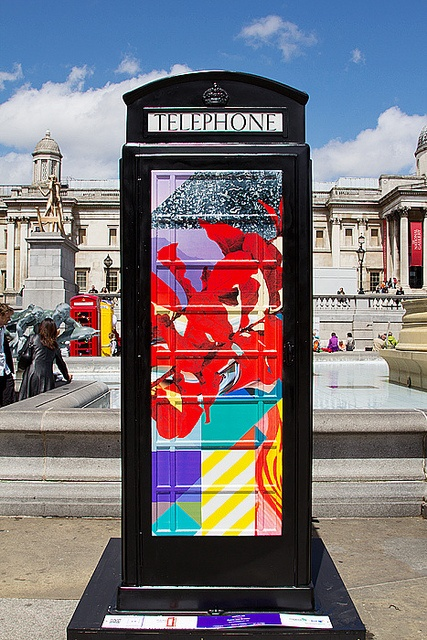 Utopia by Basso and Brooke - BT ArtBox, Trafalgar Square, London by chrisjohnbeckett, via Flickr