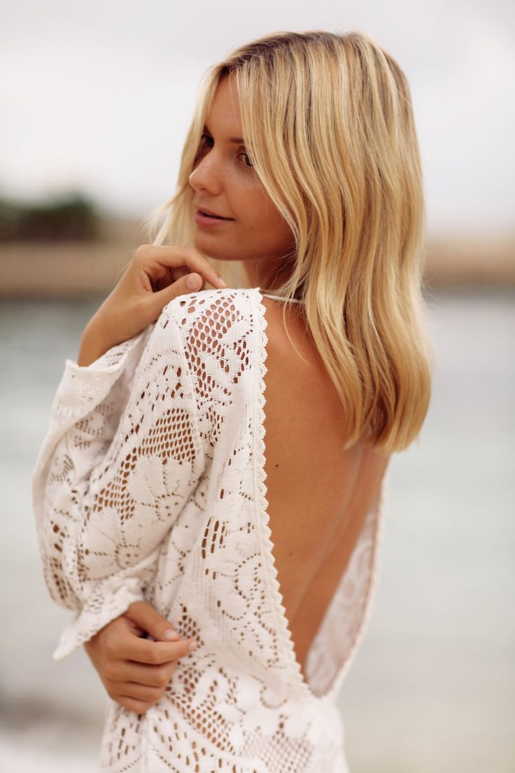 By Jessica Stein - Tuula / lace dress - caribbean,  jamaica