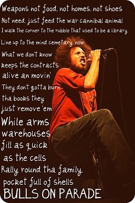 Rage Against the Machine ~ Bulls on Parade