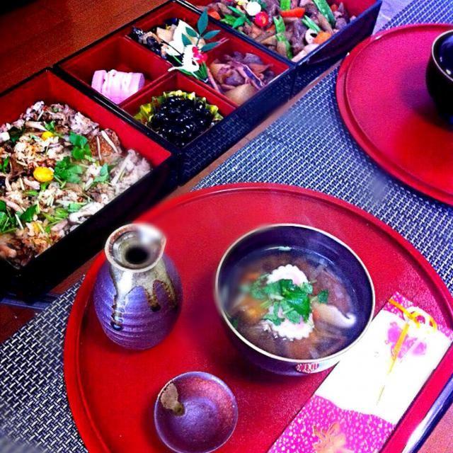 子供の頃から食べているお雑煮を再現♪ 北海道versionです♪ - 10件のもぐもぐ - 簡単御節とお雑煮♪北海道version♪ by akilosudafal