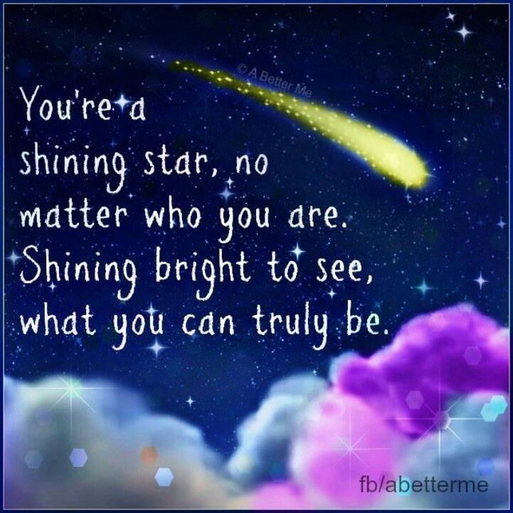 Remember that you really are a signing star. I love these words from the song by Earth, Wind and Fire. Let the light show you what you can be. Many blessings, Cherokee Billie Spiritual Advisor